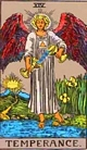 Free Tarot Reading June 2013 – Temperance