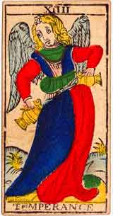 Temperance – Tarot Love Relationship Outcome & Reversed